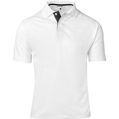 Kids Tournament Golf Shirt White Size 8