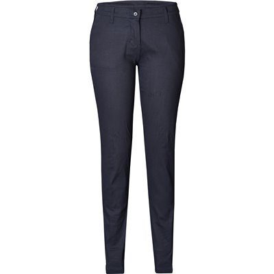 US Basic Ladies Superb Stretch Chino Pants Navy Size 36