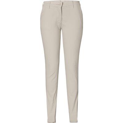 US Basic Ladies Superb Stretch Chino Pants Stone Size 30