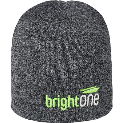 New Hampshire Melange Beanie Charcoal
