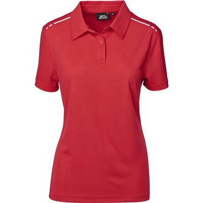Slazenger Ladies Ultimate Golf Shirt Red Size XL
