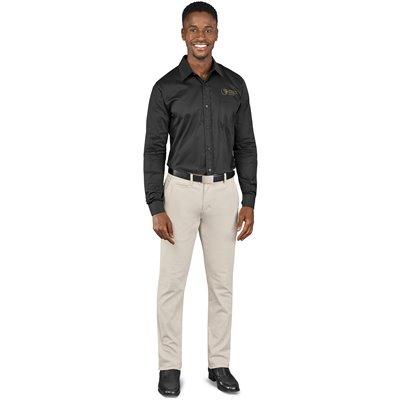 US Basic Mens Superb Stretch Chino Pants Stone Size 38
