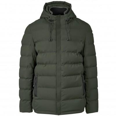 Elevate Mens Montana Jacket Military Green Size 3XL