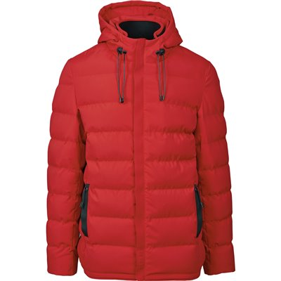 Elevate Mens Montana Jacket Red Size L
