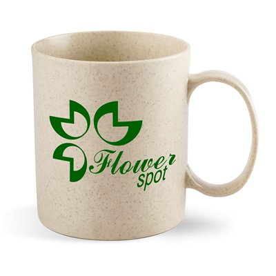 Okiyo Deshi Wheat Straw Mug- 300ml Natural