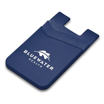 Snazzy Dual Phone Card Holder Navy
