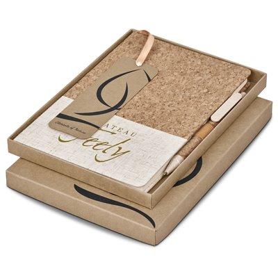 Okiyo Cardon Cork A5 Notebook Giftset Natural