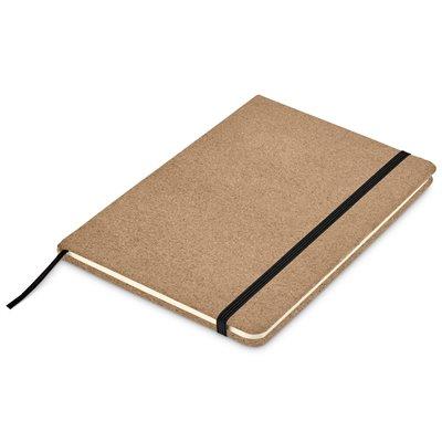 Okiyo Sakura Cork A5 Notebook Black