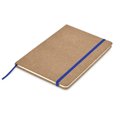 Okiyo Sakura Cork A5 Notebook Blue