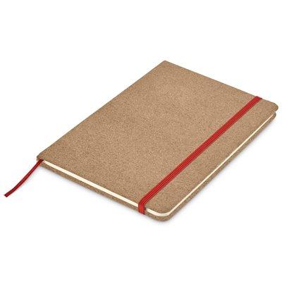Okiyo Sakura Cork A5 Notebook Red