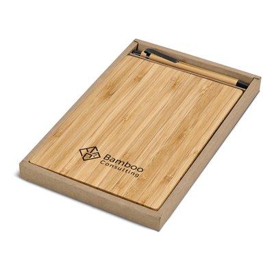 Okiyo Yahari Bamboo A5 Notebook Giftset Natural