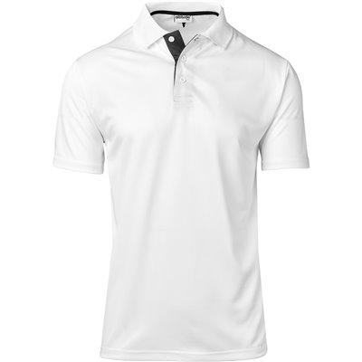 Mens Tournament Golf Shirt White Size 5XL