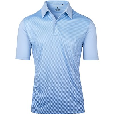 Gary Player Mens Masters Golf Shirt Light Blue Size 5XL
