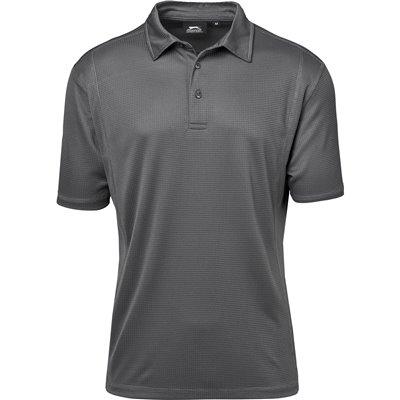 Slazenger Mens Hydro Golf Shirt Grey Size 4XL