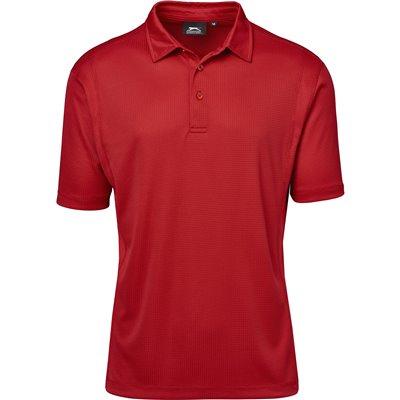 Slazenger Mens Hydro Golf Shirt Red Size 4XL