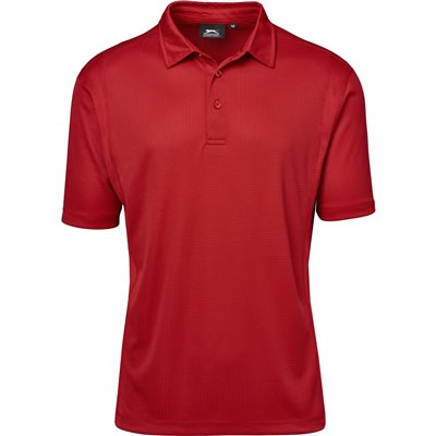 Slazenger Mens Hydro Golf Shirt Red Size 5XL