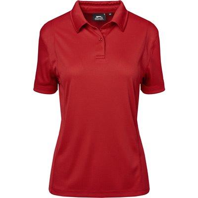 Slazenger Ladies Hydro Golf Shirt Red Size 4XL