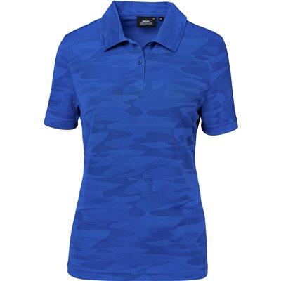 Slazenger Ladies Volition Golf Shirt Royal Blue Size 2XL