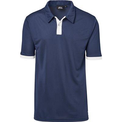 Slazenger Mens Contest Golf Shirt Navy Size 5XL