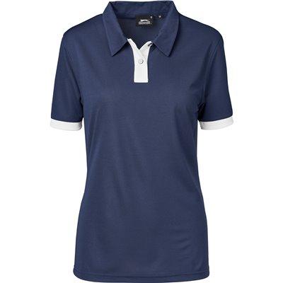Slazenger Ladies Contest Golf Shirt Navy Size 4XL