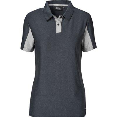 Slazenger Ladies Dorado Golf Shirt Black Size 4XL