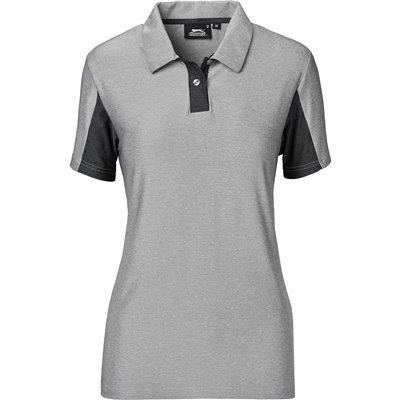 Slazenger Ladies Dorado Golf Shirt Grey Size 4XL