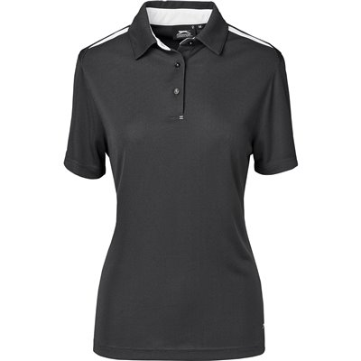 Slazenger Ladies Simola Golf Shirt Charcoal Size 4XL