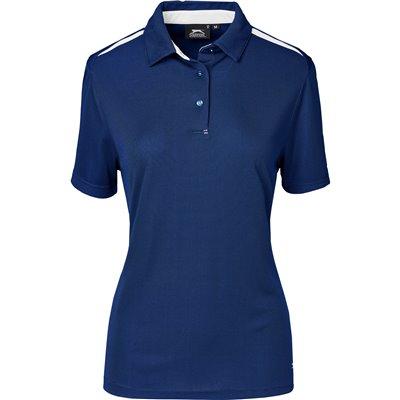 Slazenger Ladies Simola Golf Shirt Navy Size 4XL