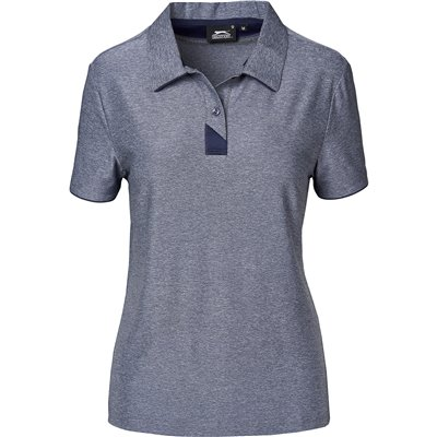 Slazenger Ladies Cypress Golf Shirt Navy Size XL