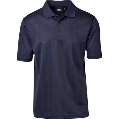 Slazenger Mens Florida Golf Shirt Navy Size 5XL