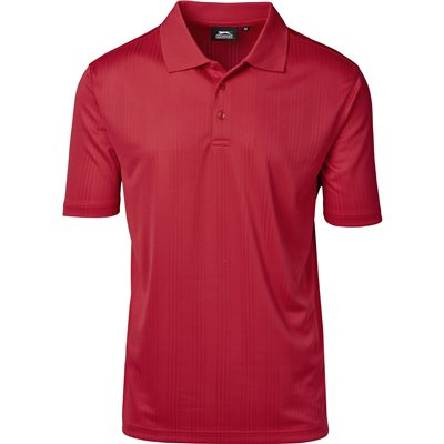 Slazenger Mens Florida Golf Shirt Red Size 5XL