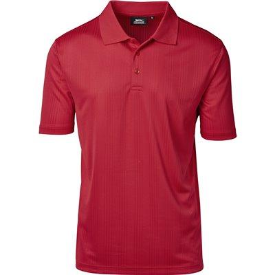 Slazenger Mens Florida Golf Shirt Red Size 5XL