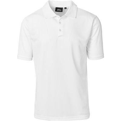 Slazenger Mens Florida Golf Shirt White Size 5XL