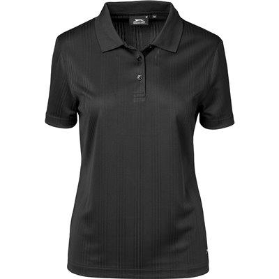 Slazenger Ladies Florida Golf Shirt Black Size 4XL