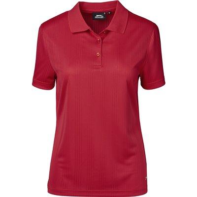 Slazenger Ladies Florida Golf Shirt Red Size 4XL