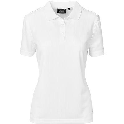 Slazenger Ladies Florida Golf Shirt White Size 4XL