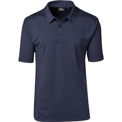 Slazenger Mens Riviera Golf Shirt Navy Size 4XL