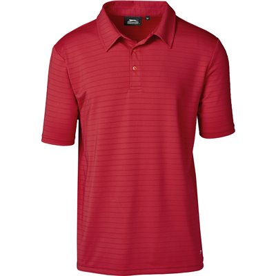 Slazenger Mens Riviera Golf Shirt Red Size 5XL