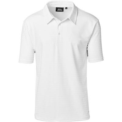 Slazenger Mens Riviera Golf Shirt White Size 4XL