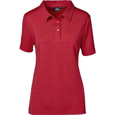 Slazenger Ladies Riviera Golf Shirt Red Size 3XL