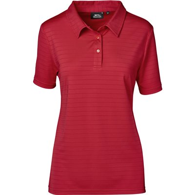 Slazenger Ladies Riviera Golf Shirt Red Size 4XL