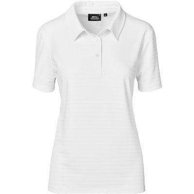 Slazenger Ladies Riviera Golf Shirt White Size 3XL