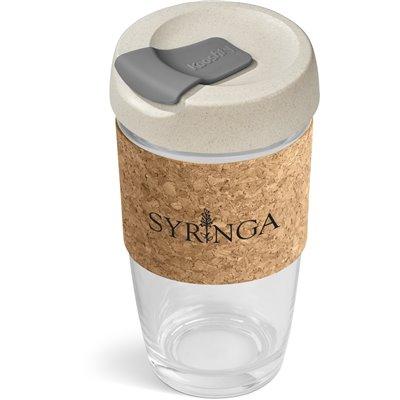 Kooshty Jumbo Kork Chacha Glass Kup - 480ml Grey
