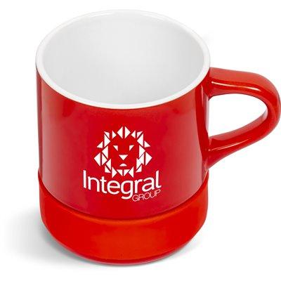 Kooshty Mixalot Match Mug - 320ml Red