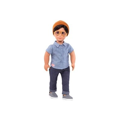 Our Generation Classic Boy Doll Franco 18Inch Brown Hair