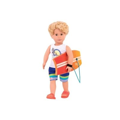 Our Generation Classic Boy Doll Surfer Gabe 18Inch Blonde