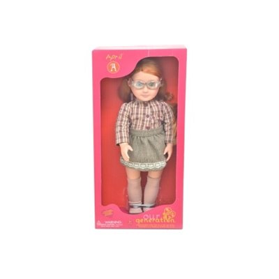 Our Generation Classic Doll April 18Inch Ginger