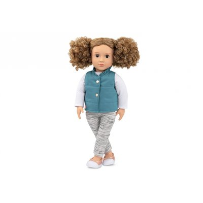 Our Generation Classic Doll Mila 18Inch Brunette