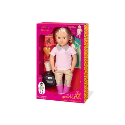 Our Generation Deluxe Doll With Book Tamera 18Inch Blonde