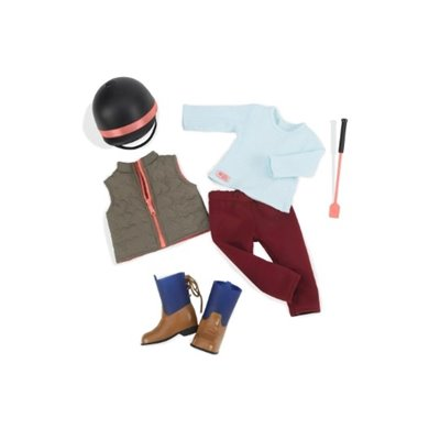 Our Generation Deluxe Riding Outfit - Well Groomed